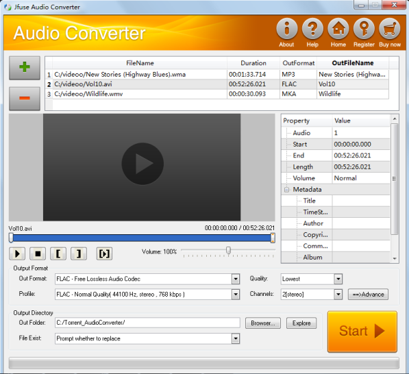 A multifunctional audio converter to convert.